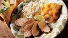 Caribbean Jerk Turkey with Bananas Recipe