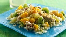 Gluten Free Tropical Fruit, Rice and Tuna Salad