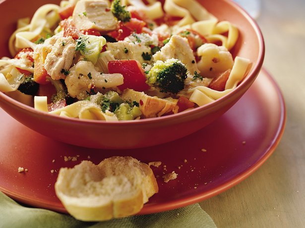 Turkey Pasta Primavera