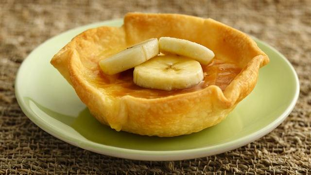 White Chocolate-Banana Crme Brle Tarts