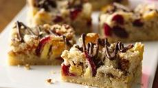 Festive Fruit and Nut Bars Recipe