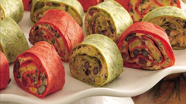 Mexican Vegetable Roll-Ups