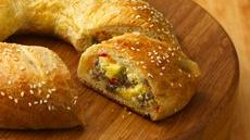 Egg and Sausage Breakfast Ring Recipe