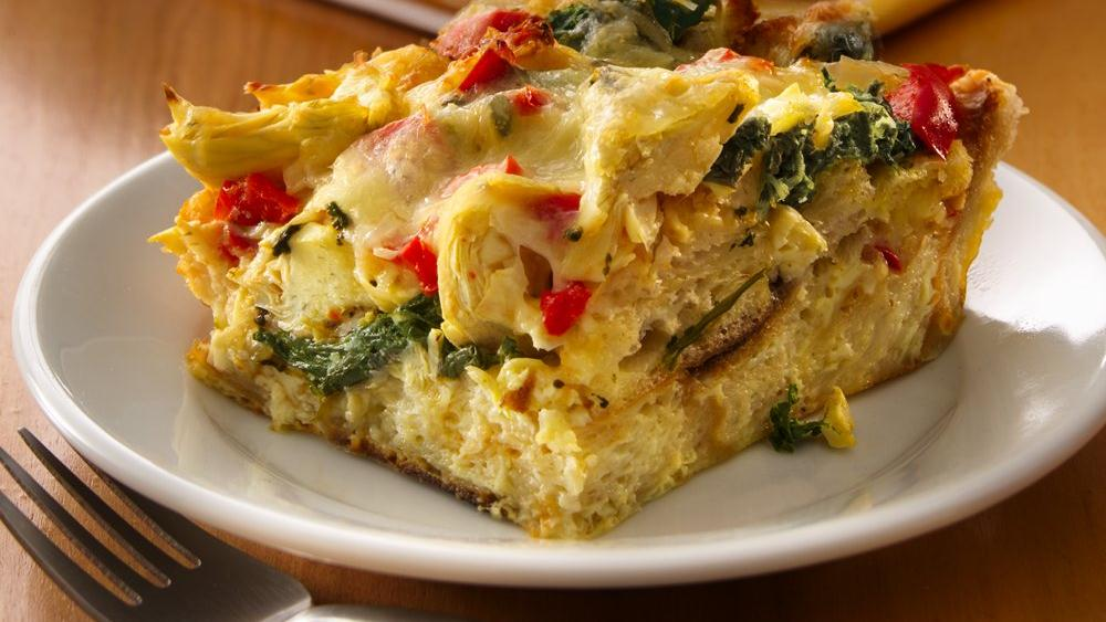 Spinach And Egg Strata Recipes — Dishmaps