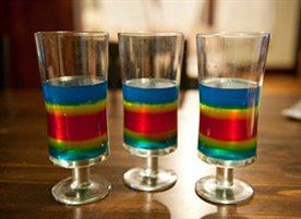 Double Rainbow Shots recipe - from Tablespoon!