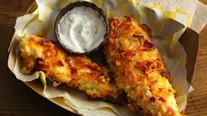 Cheddar Bacon Chicken Tenders Recipe