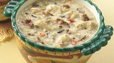 Light Chicken-Wild Rice Soup Recipe