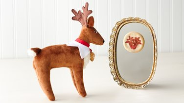 Reindeer Cookie Mirror