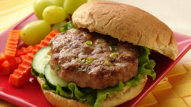 Image of Asian Turkey Burgers, Pillsbury
