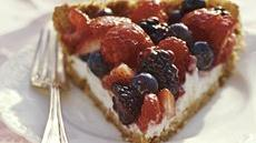 Mixed Berry Pie with Lactose Free Yogurt Recipe