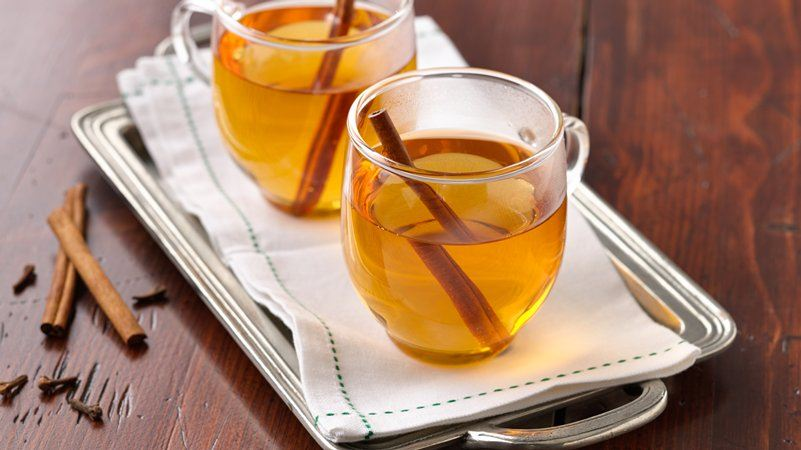 Hot Spiced Cider recipe from Betty Crocker