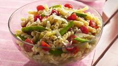 Gemelli with Fresh Green and Yellow Beans Recipe