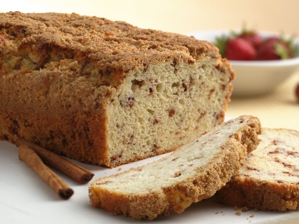 Cinnamon Streusel Quick Bread