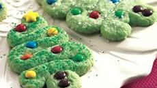 Swirly Tree Cookies Recipe