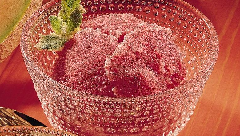 Strawberry-Honey Sorbet