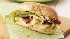 Hoagie Sandwiches on the Grill Recipe