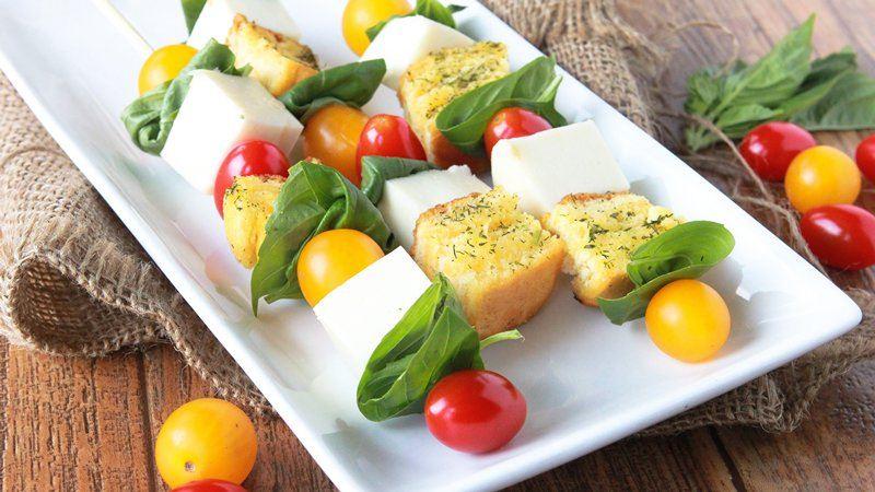 Caprese Salad Skewers recipe from Betty Crocker