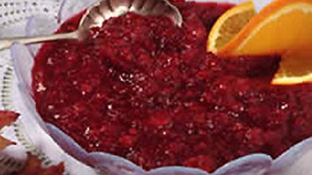 Cranberry-Citrus Relish