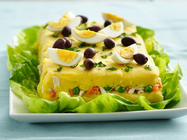 Peruvian Causa Rellena