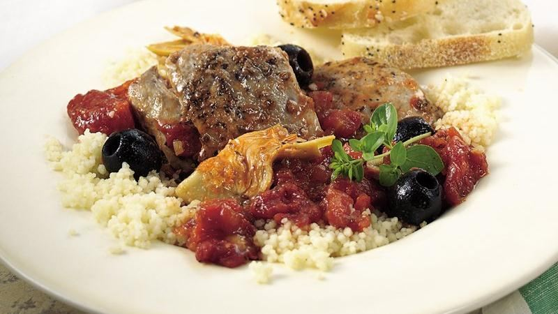 Slow-Cooker Mediterranean Chicken Stew