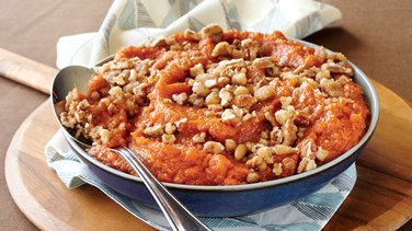 Slow-Cooker Sweet Potato Casserole with Pecans