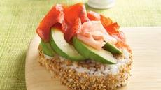 Smoked Salmon-Avocado Sushi Salad Recipe