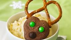 Chocolate Spritz Reindeer Recipe