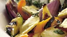 Grilled Vegetables and Ravioli Recipe