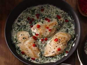 Lemon&#32;Florentine&#32;Chicken