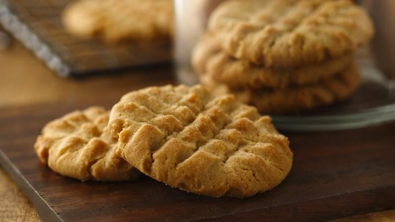 Peanut Butter Cookies recipe from Betty Crocker