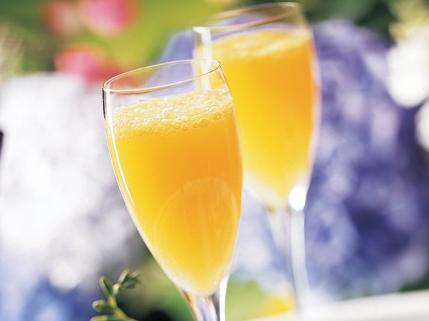 Peachy Mimosas