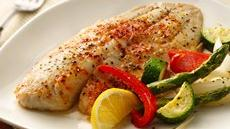 Roasted Tilapia and Vegetables Recipe