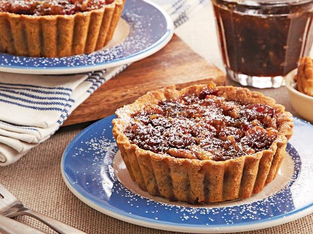 Cinnamon Sugar Fig Tarts