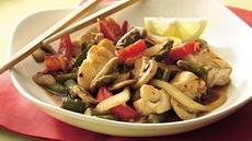 Halibut Asparagus Stir-Fry Recipe