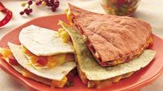 Christmas Quesadillas Recipe