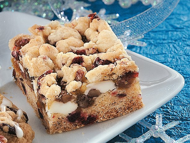 Image of Apricot-cranberry-nut Bars, Betty Crocker