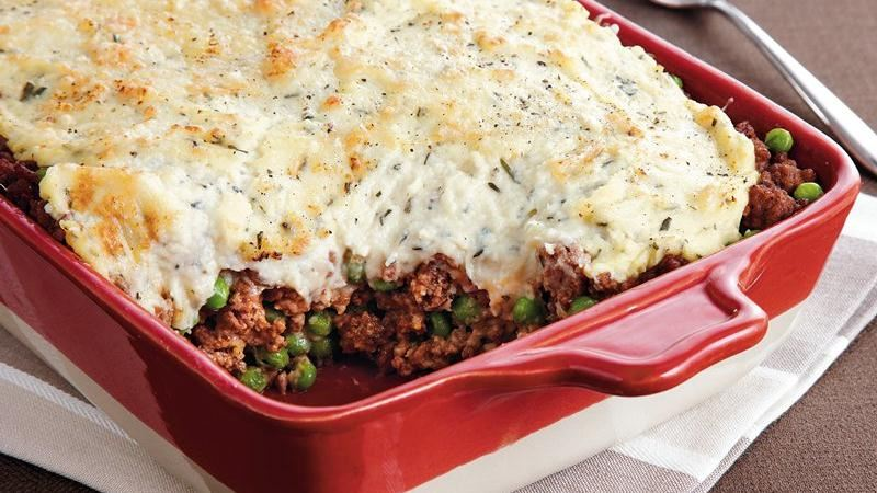 Parsnip Topped Shepherd's Pie recipe from Betty Crocker