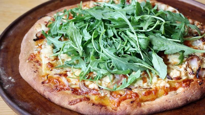 Fall Harvest Veggie Pizza