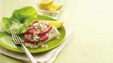 Lemony Fish and Tomatoes Recipe
