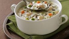 North Woods Wild Rice Soup (Cooking for Two) Recipe