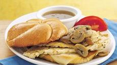 Chicken Marsala Sandwiches Recipe