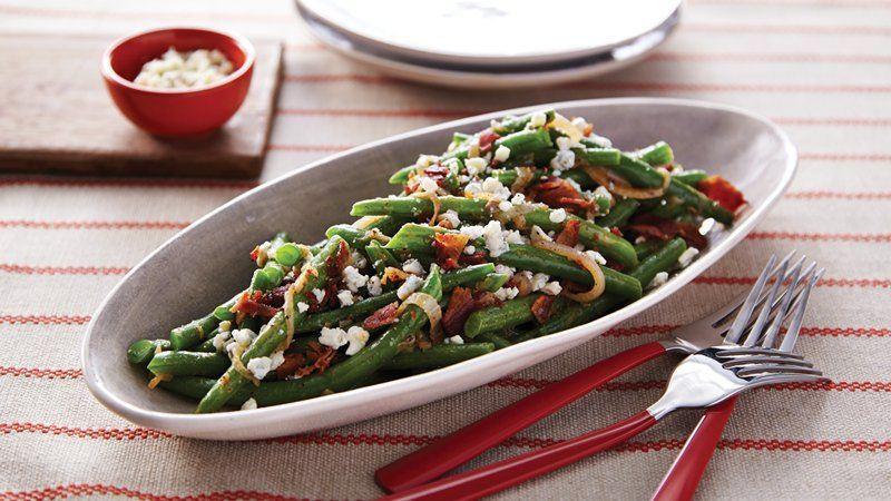 Sautéed Green Beans and Shallots recipe from Betty Crocker