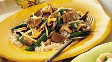 Teriyaki Beef and Mushrooms Recipe