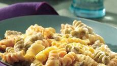 Three-Cheese Rotini Bake Recipe