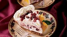 Double Chocolate Cranberry Mousse Pie Recipe