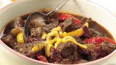 Slow Cooker Texas Chuck Wagon Chili Recipe
