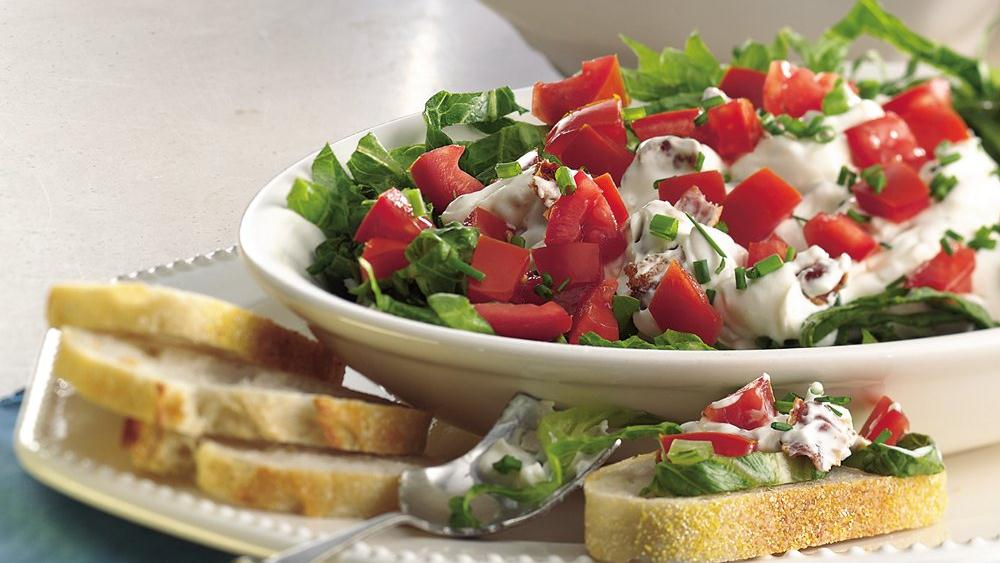 Bacon, Lettuce and Tomato Dip recipe from Pillsbury.com