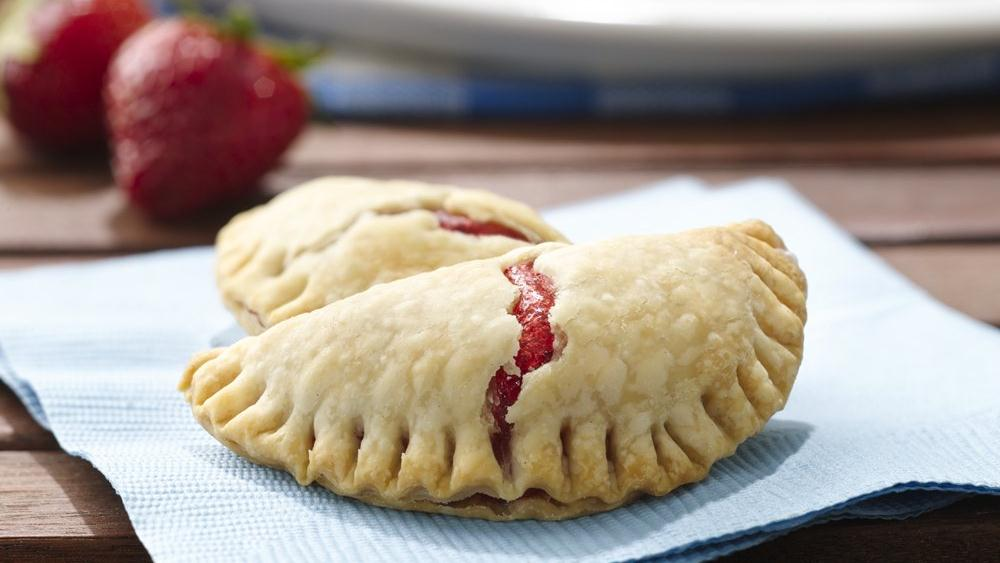 Grilled Strawberry Hand Pies recipe from Pillsbury.com