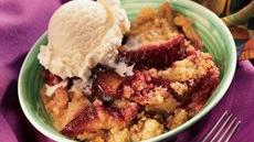 Apple Plum Betty Recipe