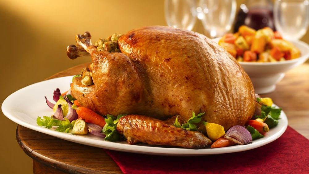 Roast Turkey with Stuffing recipe from Pillsbury.com